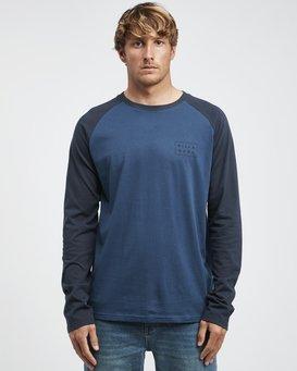 Die Cut - Long Sleeves Tee for Men  Q1LS05BIF9