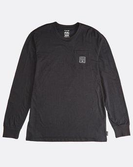 Stacked - Long Sleeves Tee for Men  Q1LS19BIF9