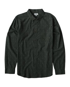 All Day - Jaquard Long Sleeves Shirt for Men  Q1SH02BIF9