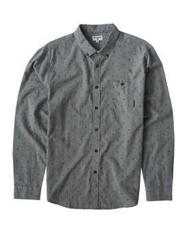 All Day - Jaquard Long Sleeves Shirt for Men  Q1SH02BIF9