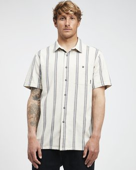 Sundays - Jaquard Short Sleeves Shirt for Men  Q1SH15BIF9