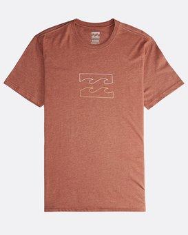 Wave - Short Sleeves Tee for Men  Q1SS14BIF9