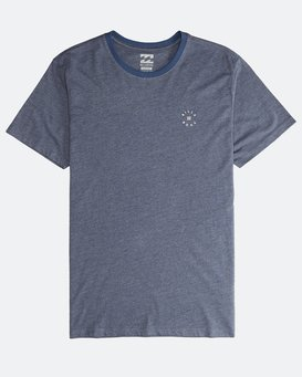 Rotor - Ringer Short Sleeves Tee for Men  Q1SS15BIF9