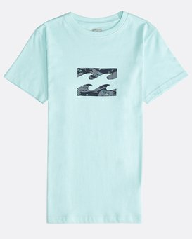 Team Wave - Short Sleeves Tee Boy for Boys  Q2SS05BIF9