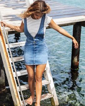 Warmin Up Indigo - Skirt for Women  Q3SK02BIF9