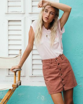 Good Life - Cord Skirt for Women  Q3SK50BIMU