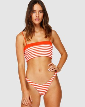 SUNS OUT STRIPE BANDEAU  Q3ST40BIMU