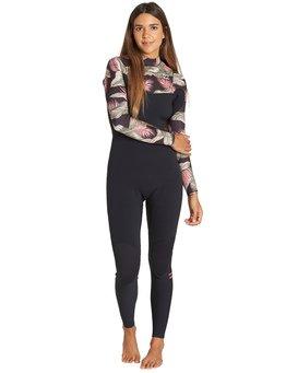 3/2mm Furnace Carbon GBS - Chest Zip Fullsuit Wetsuit for Women  Q43G02BIF9