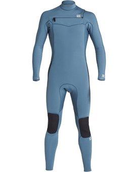 4/3mm Furnace Revolution - Chest Zip Long Sleeves Fullsuit Wetsuit for Boys  Q44B75BIF9