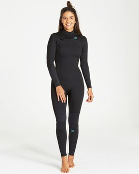 4/3mm Furnace Synergy GBS - Chest Zip Fullsuit Wetsuit for Women  Q44G32BIF9