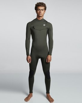 4/3mm Furnace Absolute GBS - Chest Zip Long Sleeves Wetsuit for Men  Q44M09BIF9