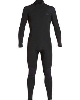 5/4mm Furnace Absolute GBS - Back Zip Long Sleeves Fullsuit Wetsuit for Boys  Q45B03BIF9