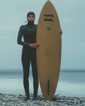 5/4mm Furnace Synergy Hd GBS - Chest Zip Hood Fullsuit Wetsuit for Women  Q45G04BIF9
