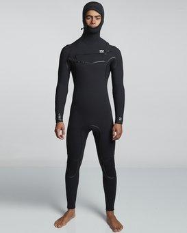 5/4mm Furnace Ultra Hd - Hood Wetsuit for Men  Q45M03BIF9
