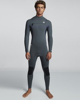 5/4mm Furnace Revolution - Chest Zip Long Sleeves Fullsuit Wetsuit for Men  Q45M06BIF9
