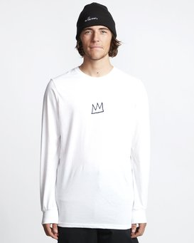 Basquiat - Thermal Long Sleeves Tee for Men  Q6LS01BIF9