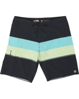 "Momentum Airlite 19"" - Performance Striped Board Shorts for Men  S1BS19BIP0"