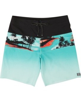 "Tribong Pro 19"" - Printed Board Shorts for Men  S1BS26BIP0"