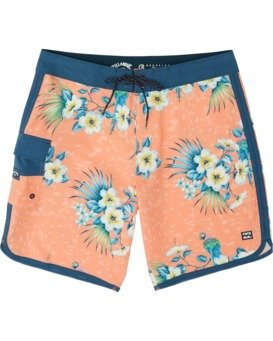 "73 Line Up Pro 19"" - Printed Board Shorts for Men  S1BS35BIP0"