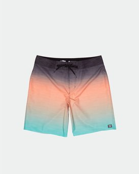 "All Day Fade Pro 17"" - Elastic Waist Board Shorts for Men  S1BS45BIP0"