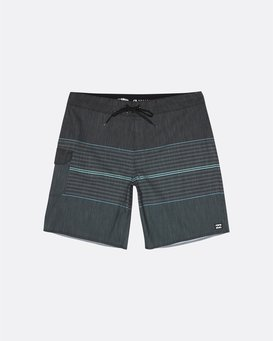 "All Day Pro 20"" - Striped Board Shorts for Men  S1BS46BIP0"