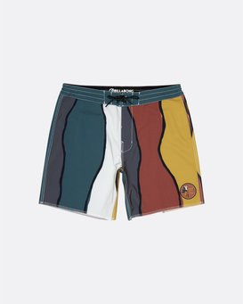 """Pukas Factory 17"""" - Board Shorts for Men  S1BS70BIP0"""