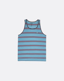 Die Cut - Striped Tank Top for Men  S1JE14BIP0