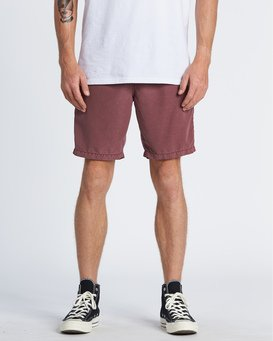 "New Order Ovd 19"" - Submersible Shorts for Men  S1WK27BIP0"