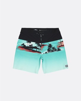 """Tribong Pro 17"""" - Printed Board Shorts for Boys  S2BS13BIP0"""