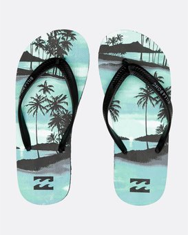Tides Print - Flip-Flops for Boys S2FF01BIP0