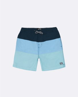 "Tribong Laybacks 14"" - Board Shorts for Boys  S2LB03BIP0"