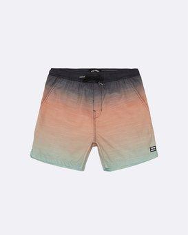 "All Day Faded Laybacks 16"" - Elastic Waist Board Shorts for Boys  S2LB06BIP0"