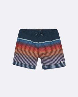 "All Day Stripe Laybacks 16"" - Board Shorts for Boys  S2LB12BIP0"