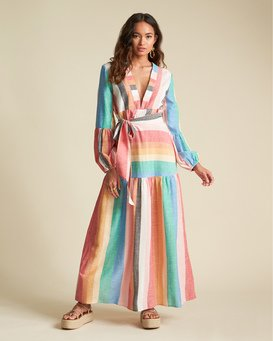 Mix It Up - Striped Maxi Dress for Women  S3DR39BIP0