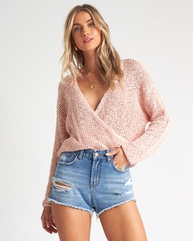 Sweet Bliss - Wrap Jumper for Women  S3JP10BIMU