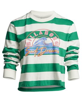 Run Away - Striped Long Sleeve Tee for Women  S3KT06BIP0