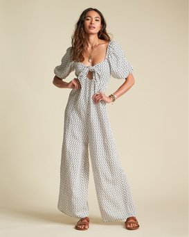 Shout It Up - Printed Jumpsuit for Women  S3PT20BIP0