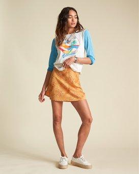 Short And Free - Snake Print Mini Skirt for Women  S3SK07BIP0