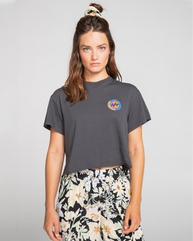 Roundhouse - Cropped T-Shirt for Women  S3SS80BIMU