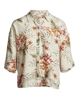 Isa Island - Oversized Button Down Shirt for Women  S3TP07BIP0