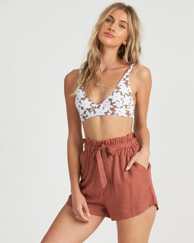Sliding Rock - High Waisted Shorts for Women  S3WK18BIP0