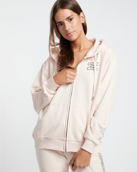 Legacy Zip Hood - Fleece for Women  S3ZH03BIP0