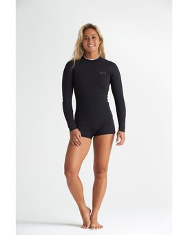 2mm Spring Fever - Front Zip Springsuit for Women  S42G50BIP0