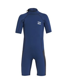 2/2mm Absolute FL - Short Sleeve Back Zip Springsuit for Toddlers  S42T60BIP0