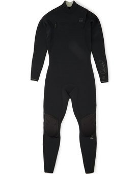 3/2mm Black Album - Chest Zip Wetsuit for Men  S43M60BIP0