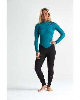 4/3mm Furn Synergy GBS - Chest Zip Wetsuit for Women  S44G52BIP0