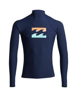 Team Wave - Long Sleeve UPF 50 Rash Vest for Men  S4MY15BIP0