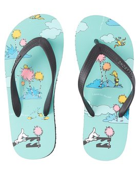 Lorax Island Tides - Flip-Flops for Boys  T2FF01BIS0