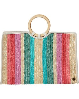 Live It Up - Straw Bag for Women  T9BG05BIS0