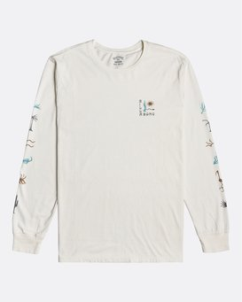 Hot Springs - Long Sleeve T-Shirt for Men  U1LS25BIF0